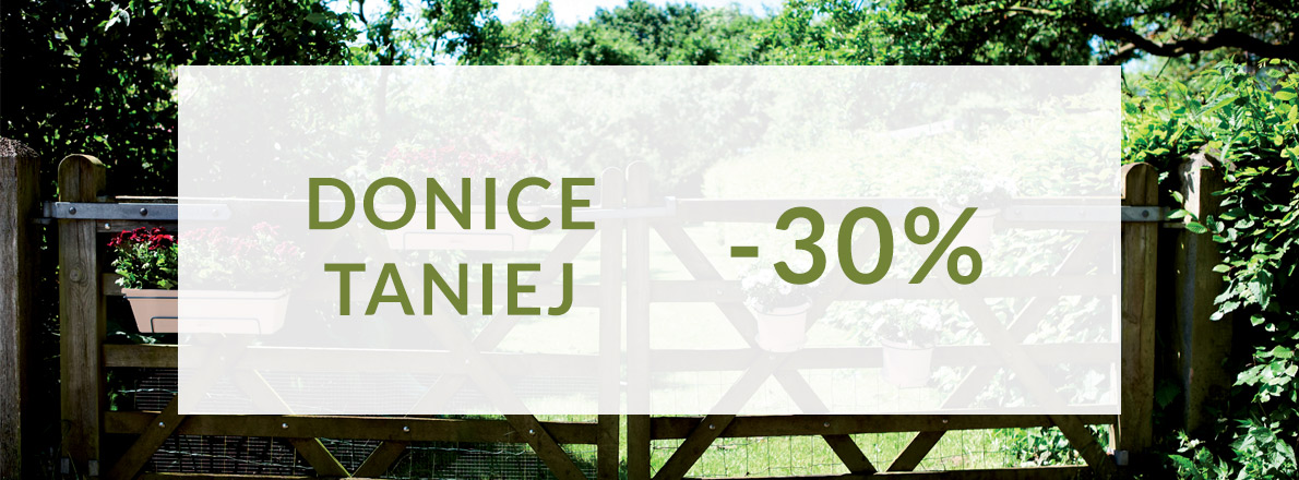 Donice -30%