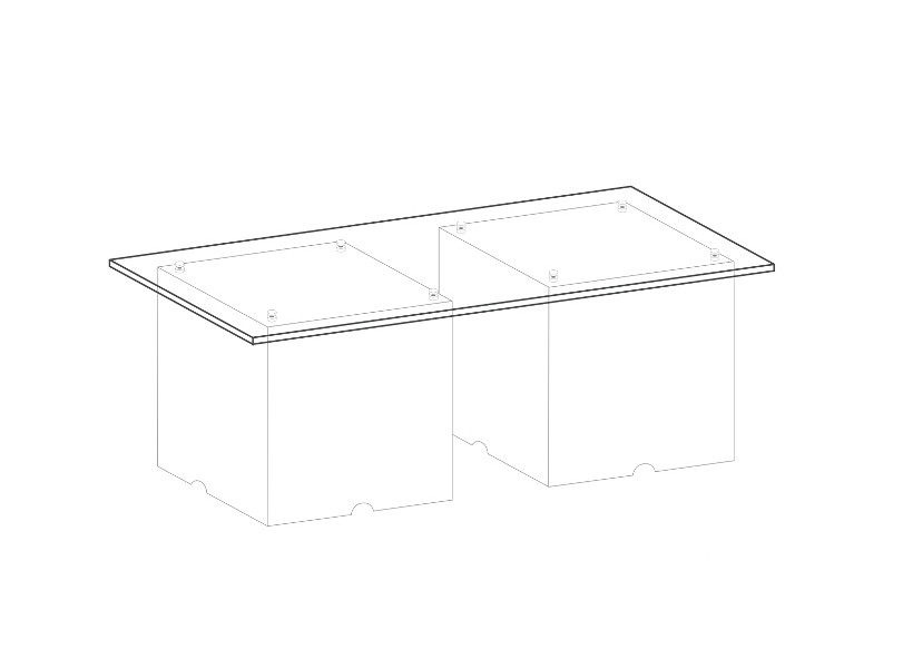 Glass Table BIG | szkło