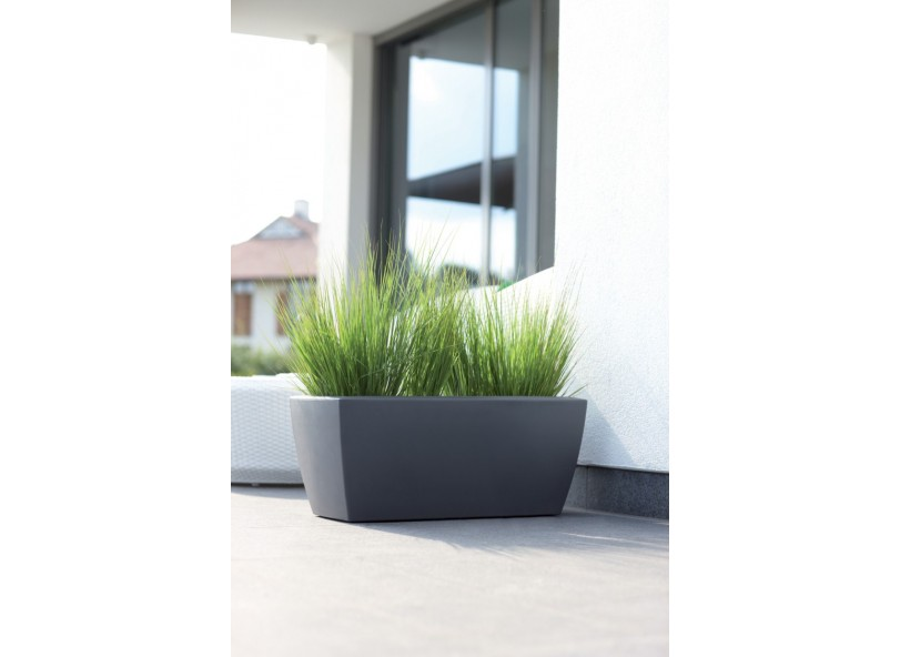Donica | Soft Square Divider 80 | antracyt