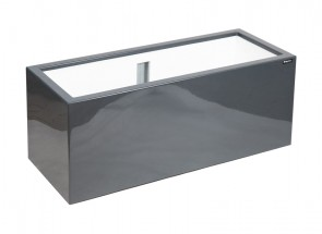 Donica   Linea 100   fiberglass antracyt OUTLET